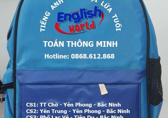 Bắc Ninh: Sản xuất balo quà tặng tại Bắc Ninh