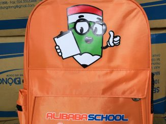 Ninh Bình: Sản xuất balo Alibaba School
