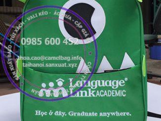 Sản xuất balo anh ngữ Language link tại Hà Nội