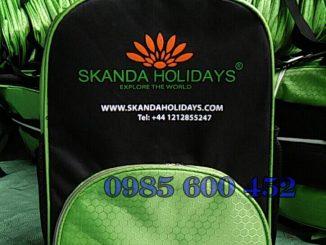 Sản xuất balo du lịch SKanda Holidays