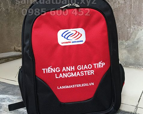 Balo quà tặng anh ngữ Langmaster
