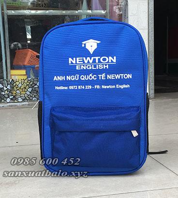 Sản xuất balo Newton English