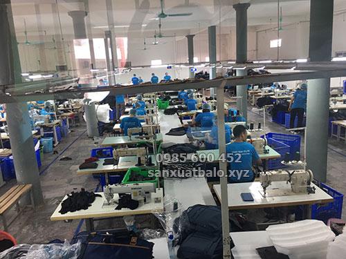 Công ty Sản xuất balo xuất khẩu Mỹ