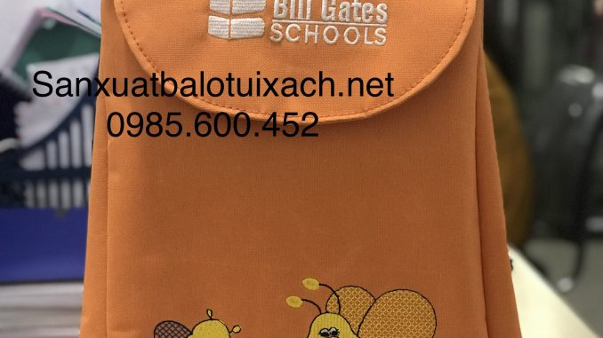 Sản xuất balo mầm non Bill Gates Schools