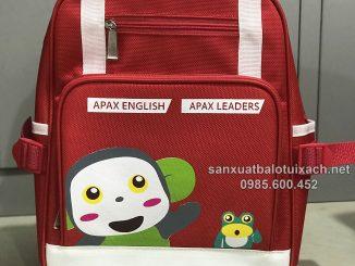 Sản xuất balo học sinh Apax English