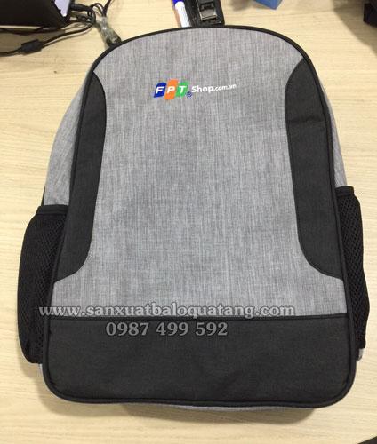 Sản xuất balo laptop FPT mẫu 2020